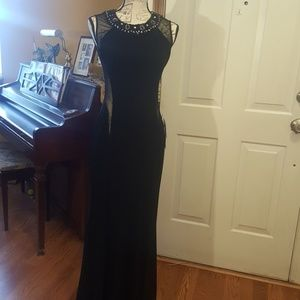 NEW Black prom dress bought Macy's Jr. Dept.